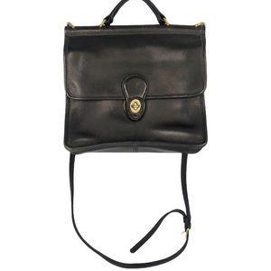 VINTAGE COACH Willis Station Legacy Flap Bag